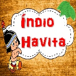 "Ícone do jogo ""Índio Havita"" com link para download""."